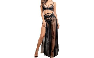 Wardrobe Idea: Black Lace/Tulle Skirt
